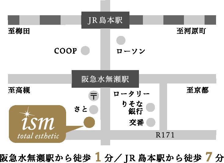 店までの地図